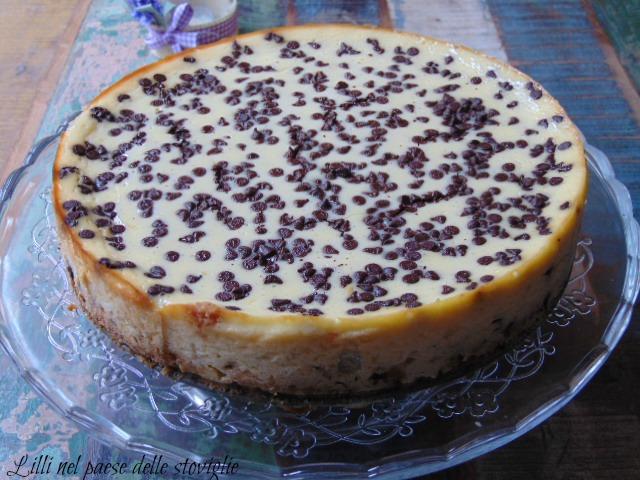 cheese cake cioccolato