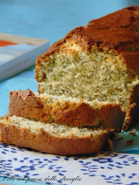 plumcake ricotta limone papavero semi