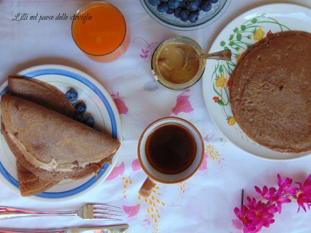 crepes, gianduia, colazione, francia, cacao, crema
