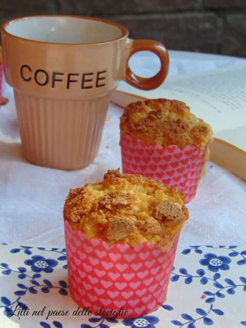 muffin, albicocche, amaretti, dolci americani, colazioni