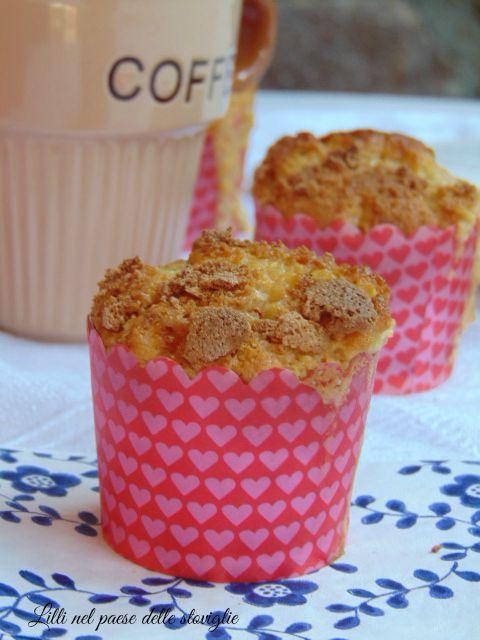 muffin, albicocche, amaretti, colazioni, merende, america