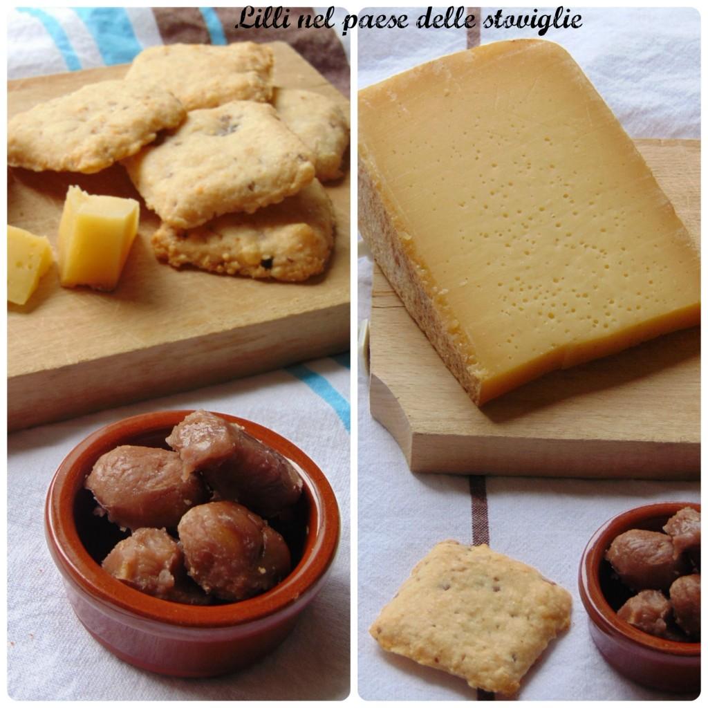 biscotti, silter, castagne, formaggio, valle camonica, antipasti, finger food, prodotti tipici