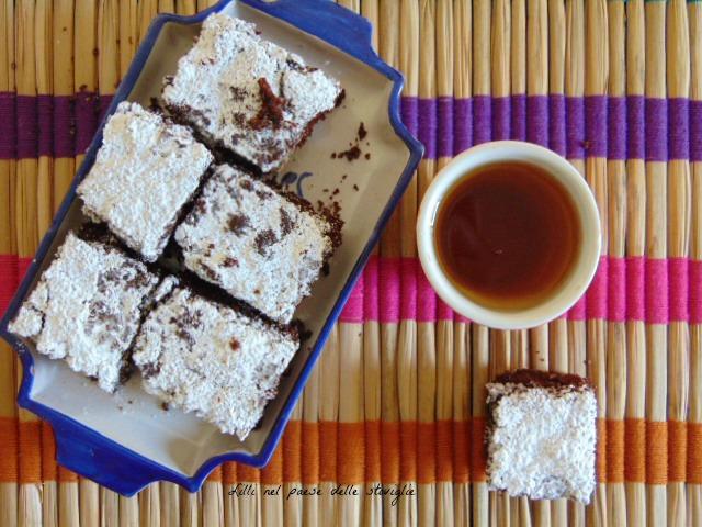 cioccolato, amarene, dolci americani, colazioni, merenda