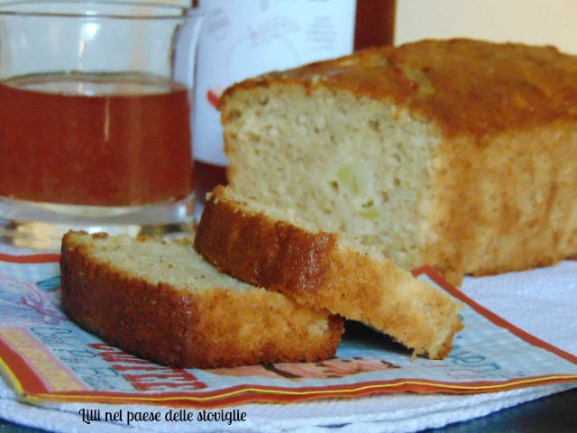 cake, mele, colazione, merenda, spezie, succo di mela, dolci