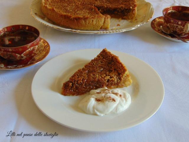 torta, dolci, noci, caramello, miele, grenoble