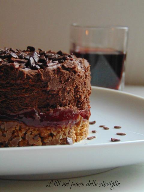 dolci al cucchiaio, cioccolato, marmellata di lamponi, specuoos, biscotti, belgio, ganache