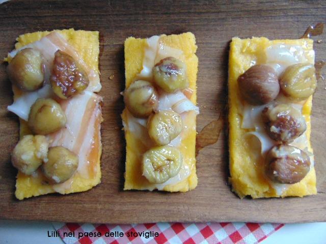 polenta, primo, antipasto, lardo, miele, castagne, valle camonica