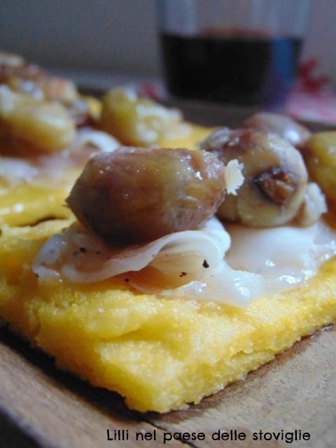 polenta, lardo, salumi, valle camonica, miele, castagne, primo, antipasto