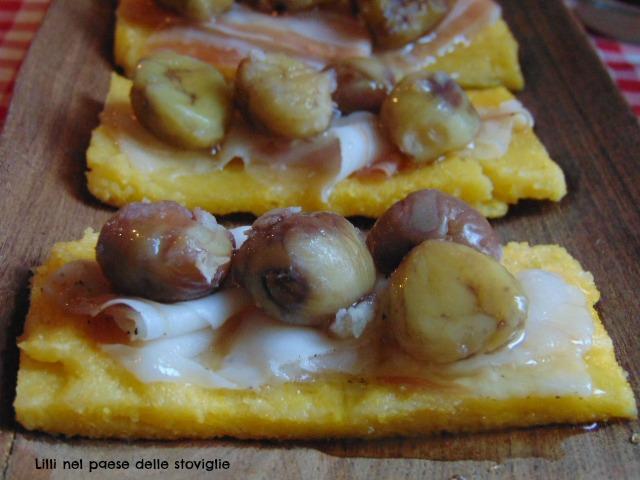 polenta, primo, antipasto, valle camonica, salumi, miele, castagne