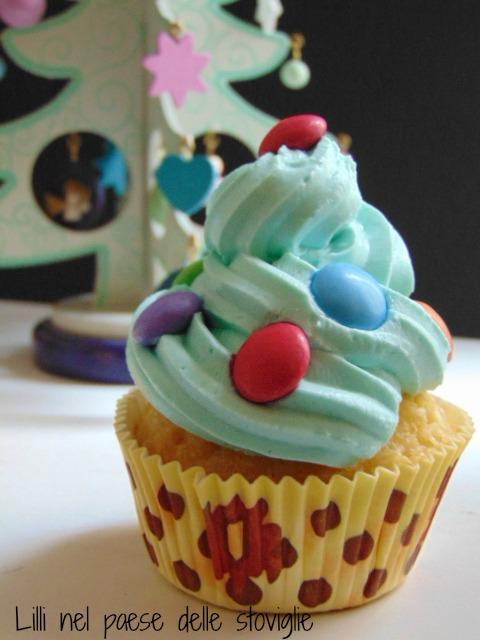 cupcake, natale, cioccolato bianco, muffin, colazioni, merende