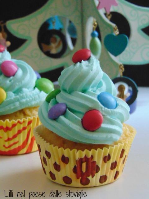 cupcake, dolci, muffin, cioccolato bianco, colazione, merende, natale