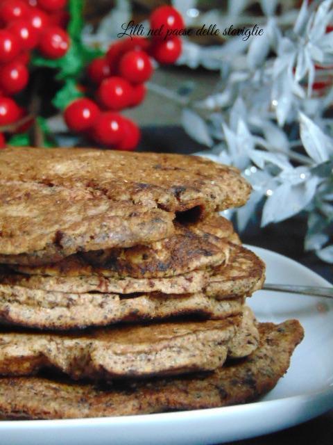 pancake, dal mondo, colazione, merenda, cioccolato, ganache, dolci