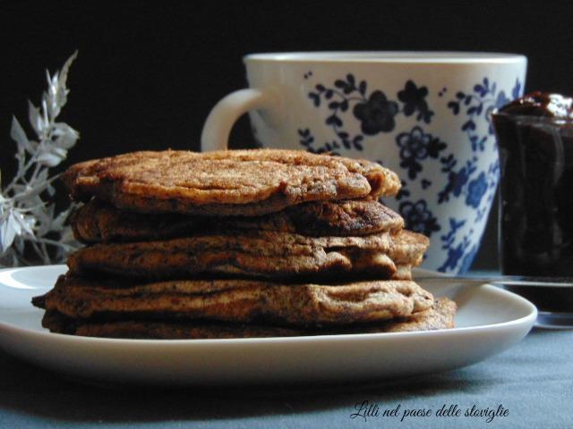 pancake, dal mondo, ganache, cioccolato, merenda, colazione, dolci