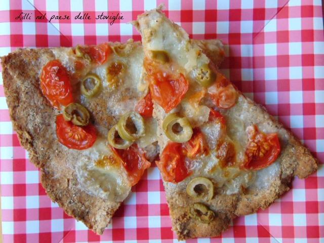 focaccia, lievitati, grano saraceno, olive, mozzarella, pomodori, pachino