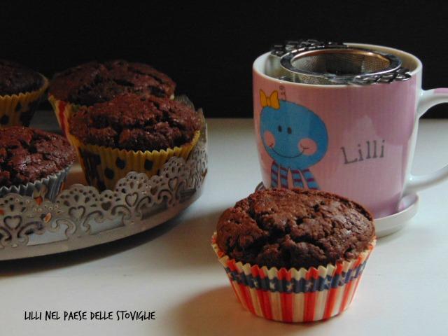 muffin, colazione,merenda, gianduia, cioccolato, donna hay