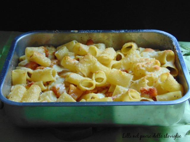 pasta, primi, speck, fontina, zucca, verdure, formaggi, salumi