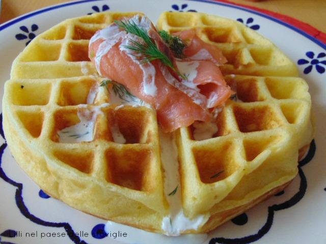 colazioni salate, pesce, erbe, dal mondo