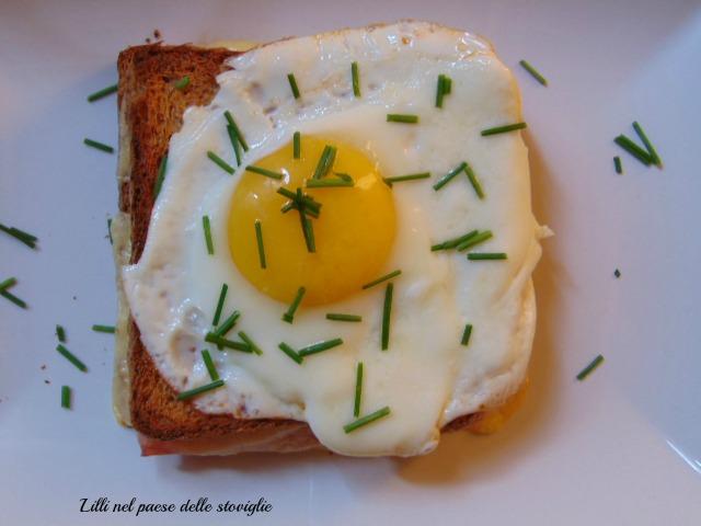 dal mondo, toast, uova, prosciutto, formaggio, francia, colazione salata, brunch