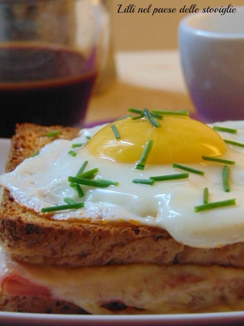 francia, dal mondo, toast, prosciutto, formaggio, uova, colazione salate
