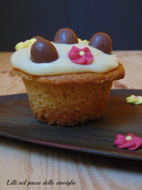 cupcake, pasqua, dolci, america, colazione, merenda, cioccolato bianco, dal mondo