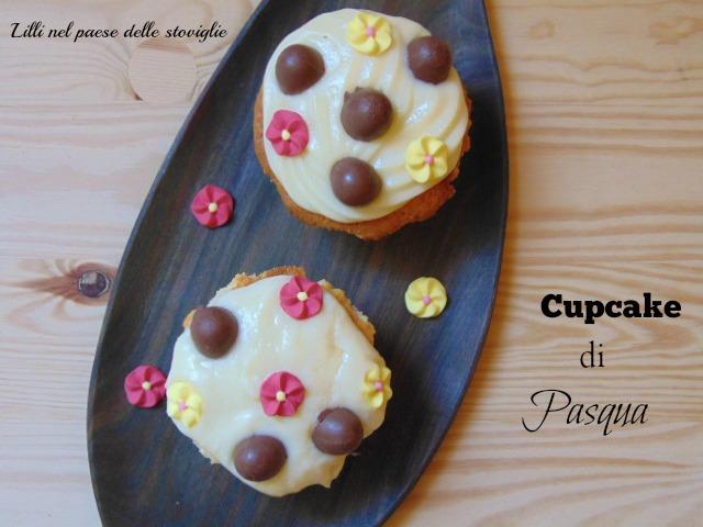 cupcake, pasqua, feste, colazione, merenda, cioccolato, cioccolato bianco, ovetti, dal mondo