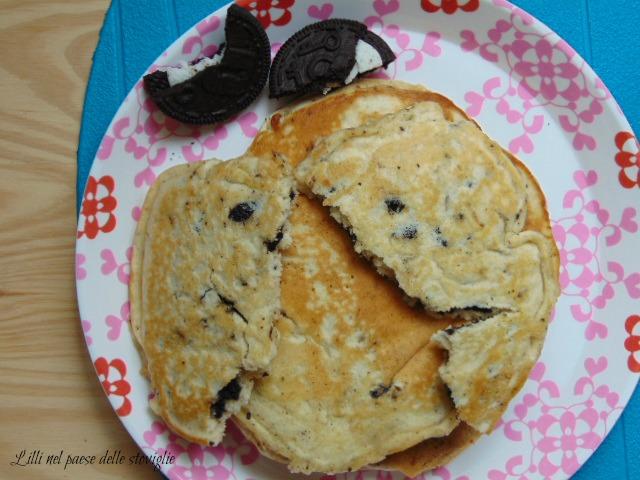 oreo, pancake, colazione,biscotti, dolci