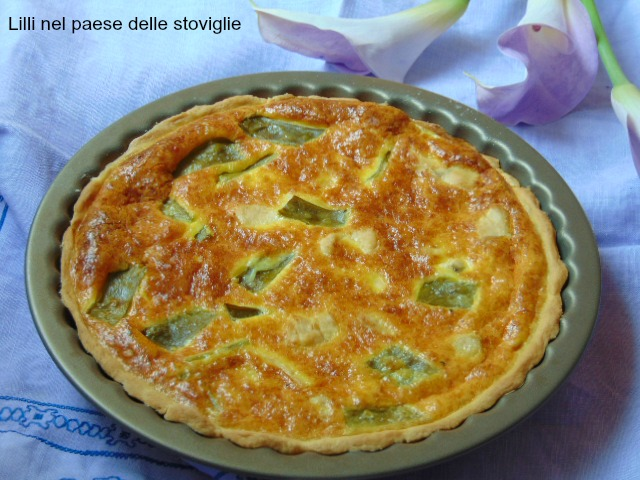 quiche, francia, torta salata, pic nic, pasta matta, carne, pollo, taccole, verdure