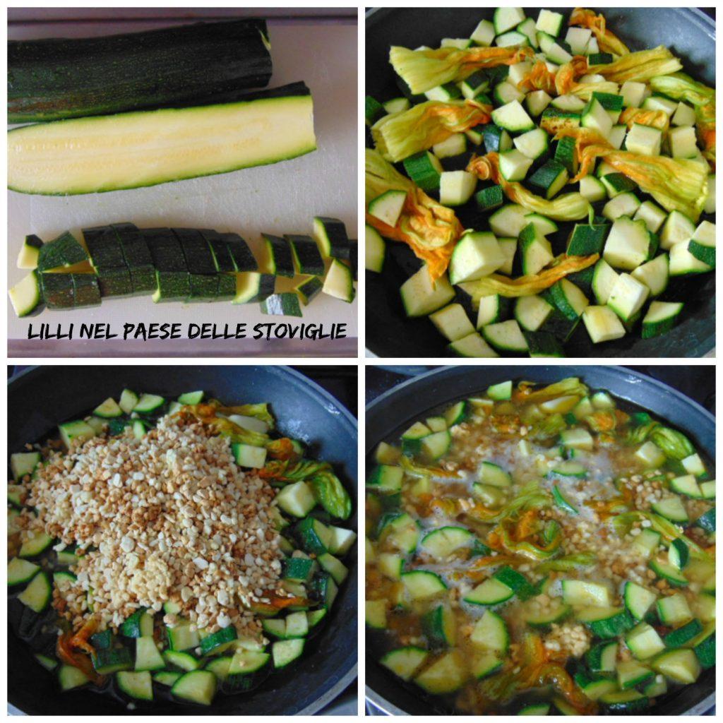 fregola, primi, regionale, sardegna, cozze, pesce, verdure, fiori di zucca, zucchine