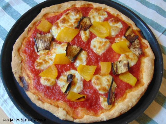 pizza, lievitati, ortolana, pomodoro, verdure, mozzarella