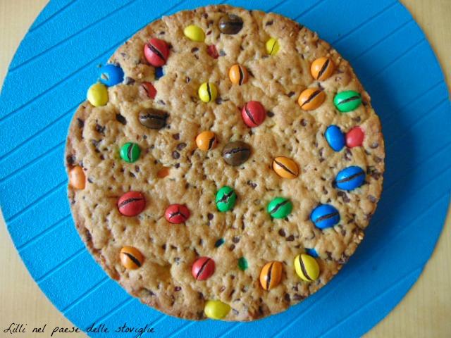 torta, merenda, colazione, cookie, m&m's, cioccolato