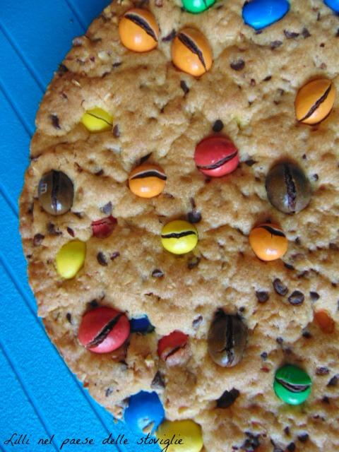 torta, merenda, colazione, cioccolato, cookie, m&m's