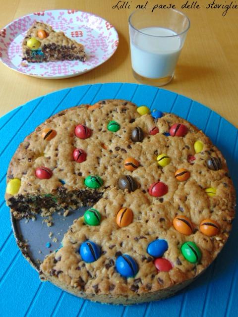 torta, merenda, colazione, cioccolato, m6m's, cookie