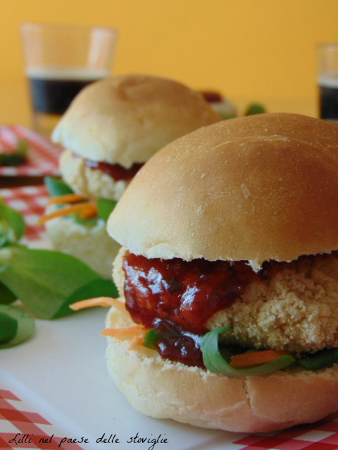 hamburger, cannellini, legumi, panini, vegan, vegetariano, verdure