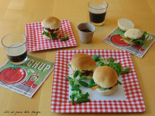 hamburger, vegan, vegetariano, cannellini, legumi, panini, verdure