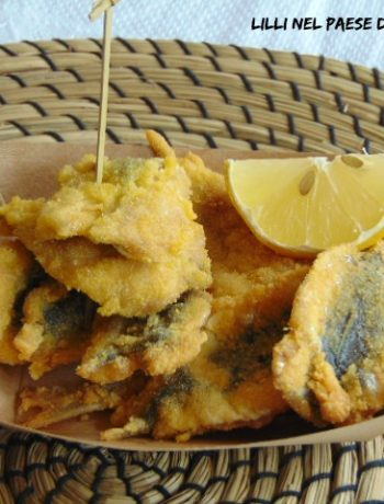 frittura, sardine, pesce, antipasto, finger food