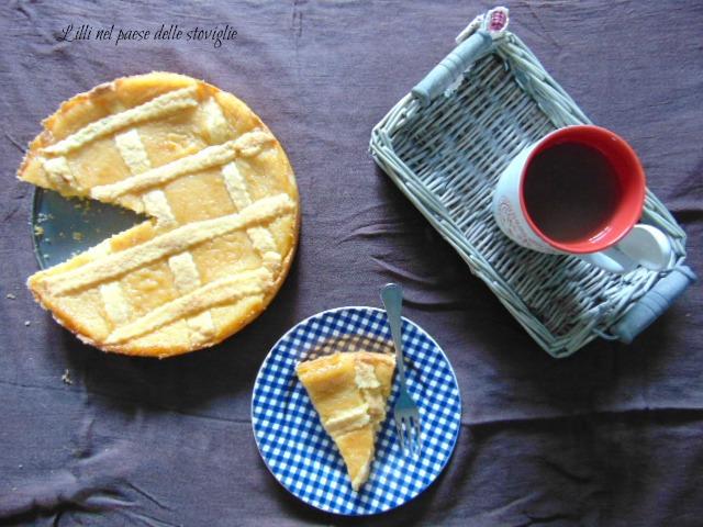 crostata, crema, dolci, colazione, merenda, susine, frutta, gluten free