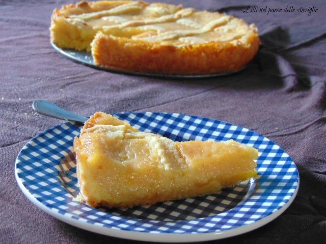 crostata, colazione, merenda, dolci, torte, susine, frutta, crema, gluten free
