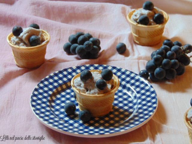 gelato, uva fragola, frutta, moscato, bevande
