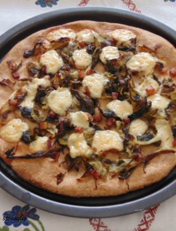 pizza, lievitati, farina di farro, nocciole, frutta secca, scarola, verdure, salumi, pancetta, formaggio, provola