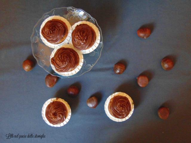 castagne, colazione, merenda, dolci, frutta secca, cioccolato, dal mondo, cupcake