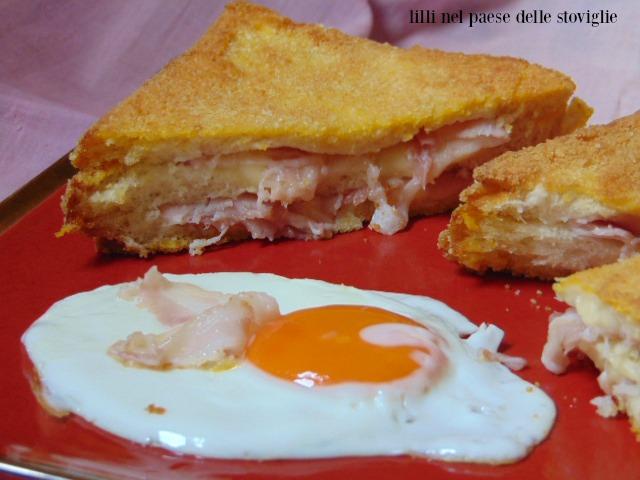 french toast, bacon, salumi, uova, dal mondo, colazione salata