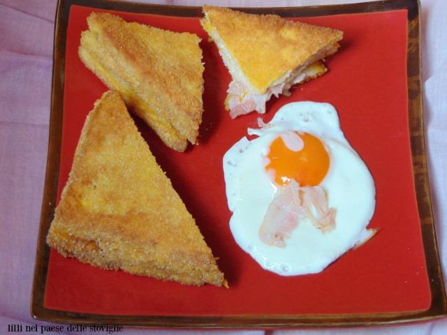 french toast, dal mondo, colazione salata, bacon, salumi, uova