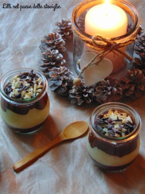 mousse, cioccolato, dolci al cucchiaio, speculoos, biscotti, cioccolato bianco