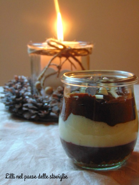 mousse, cioccolato, dolci, dolci al cucchiaio, speculoos, biscotti