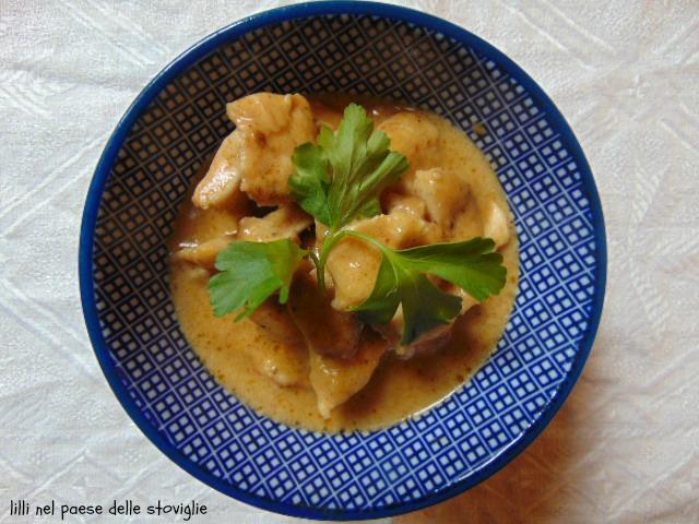 pollo, carne, latte di cocco, curry rosso, dal mondo, spezie