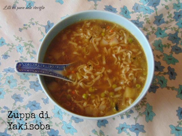 yakisoba, zuppa, brodo, verdure, dal mondo, primi
