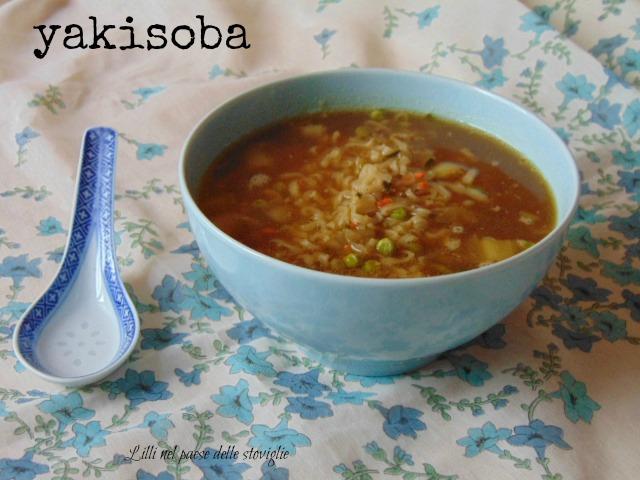 yakisoba, zuppa, brodo, dal mondo, verdure, primi
