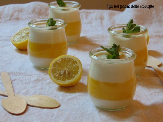 dolci, dolci al cucchiaio, limoni, frutta, lemon curd, creme