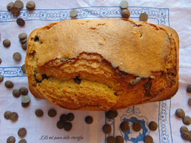 plumcake, dolce, colazione, merenda, cioccolato, rosmarino, erbe