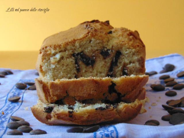 plumcake, cioccolato, dolci, colazione, merenda, erbe, rosmarino